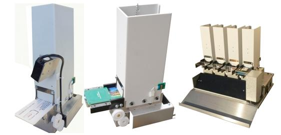 DE 5245 modular RFID or barcode dispenser