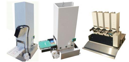 DE 5245 Modular card dispenser with capture mechanism for kiosk