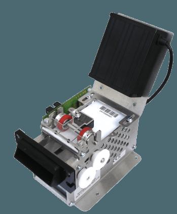 LCB 5460 Motorized barcode card 1D version B