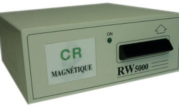 LE5330 Magnetic card reader encoder station